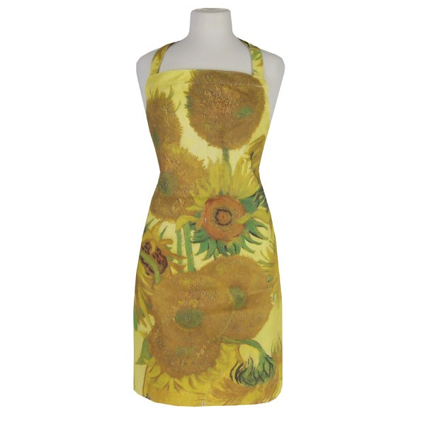 National Gallery Sunflowers Apron