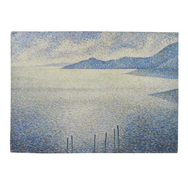 Coastal Scene by Théo van Rysselberghe National Gallery Tea Towel