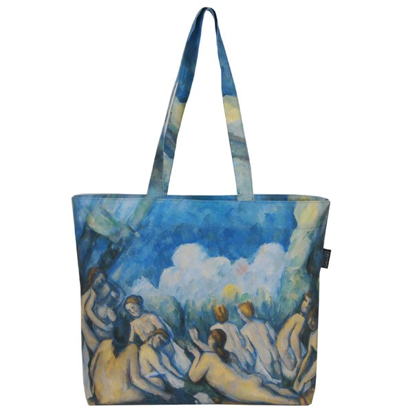 Bathers (Les Grandes Baigneuses) by Paul Cezanne Tote Bag