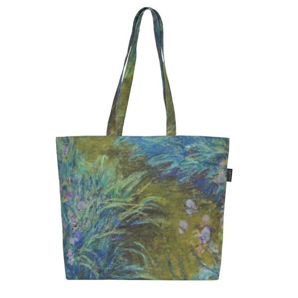 Irises by Claude Monet Tote Bag