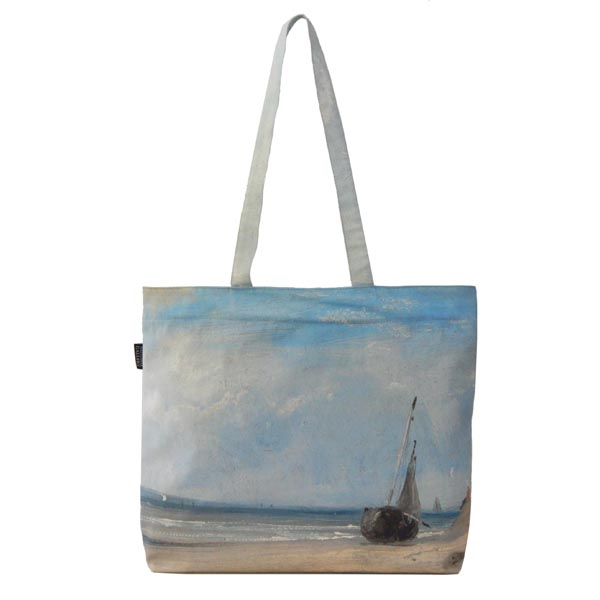 La Ferté by Richard Parkes Bonington Tote Bag