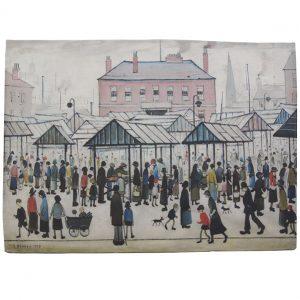 Market Scene, Northern Town, 1939
