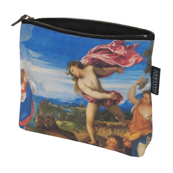 Bacchus and Ariadne by Titian Cosmetic Bag