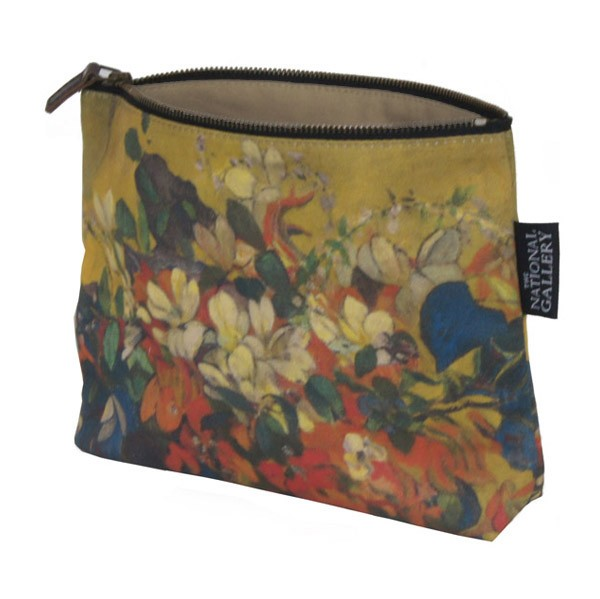 A Vase of Flowers by Paul Gauguin Cosmetic Bag