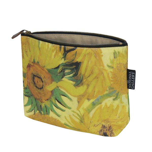 Sunflowers by Vincent van Gogh Cosmetic Bag