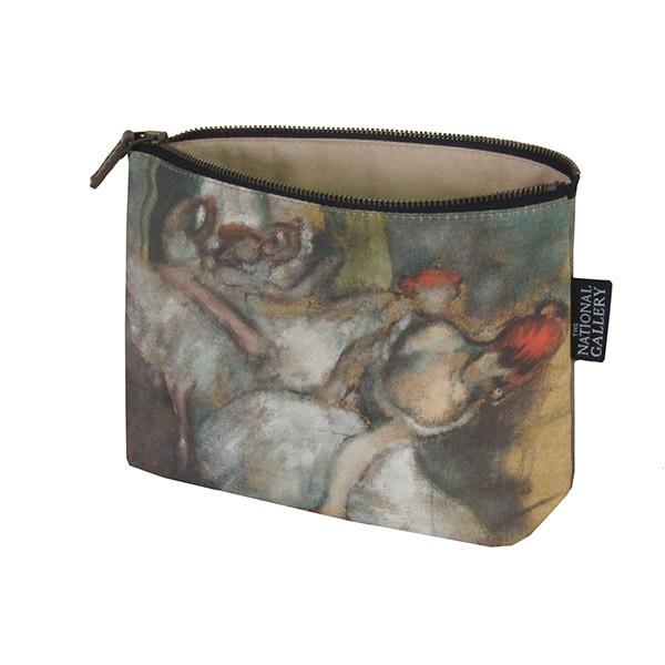 Ballet Dancers by Hilaire-Germain-Edgar Degas Cosmetic Bag