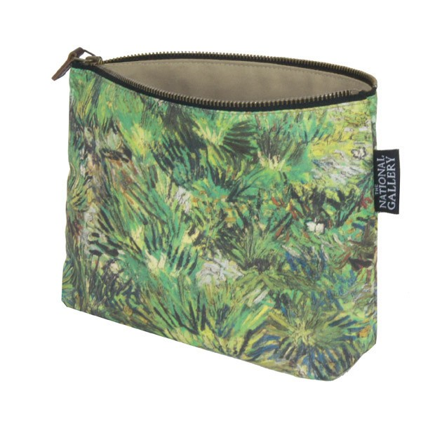Long Grass with Butterflies by Vincent van Gogh Cosmetic Bag
