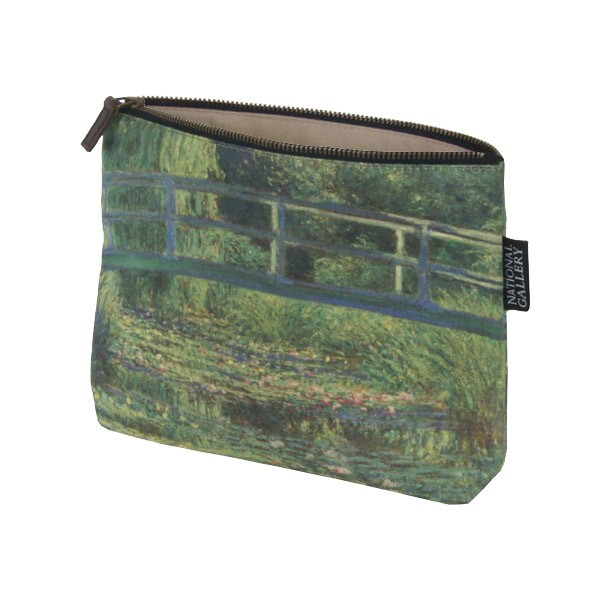 The Water-Lily Pond by Claude Monet Cosmetic Bag