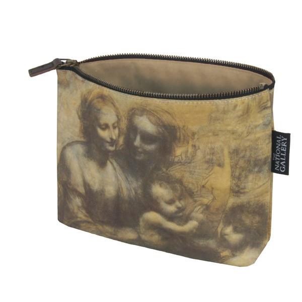 The Burlington House Cartoon by Leonardo da Vinci Cosmetic Bag