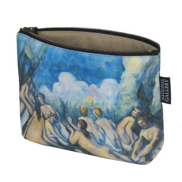 Bathers (Les Grandes Baigneuses) by Paul Cezanne Cosmetic Bag