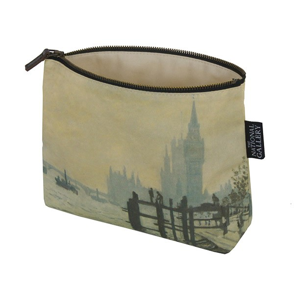The Thames below Westminster by Claude Monet Cosmetic Bag