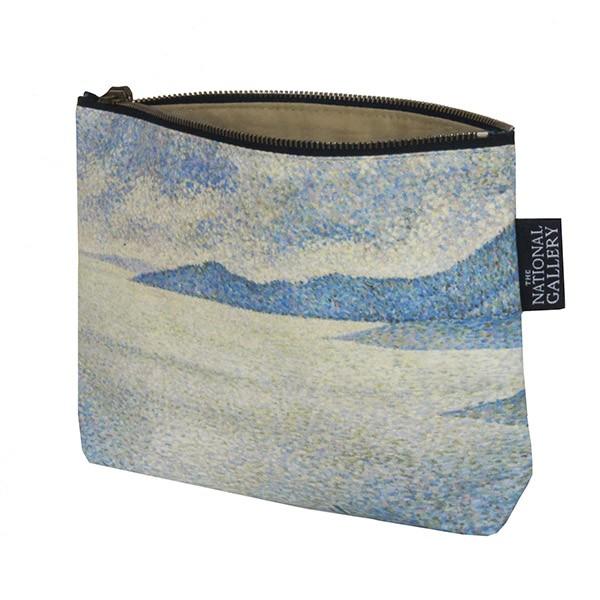 Coastal Scene by Théo van Rysselberghe Cosmetic Bag