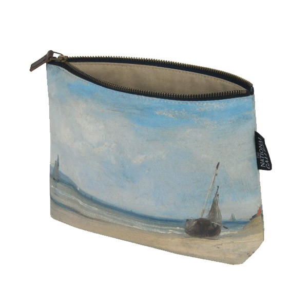 La Ferté by Richard Parkes Bonington Cosmetic Bag