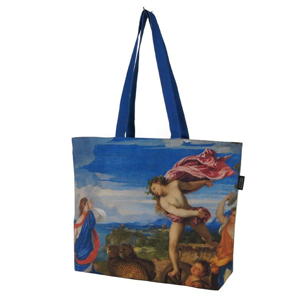 Bacchus and Ariadne by Titian Tote Bag