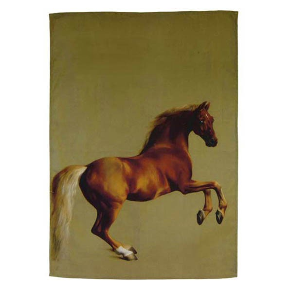 Whistlejacket by George Stubbs Tea Towel