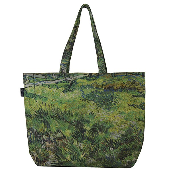 Long Grass with Butterflies by Vincent van Gogh Tote Bag