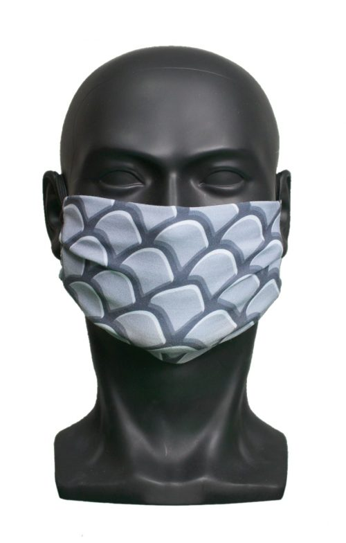 Dragon Scales kids Childrens Face Mask Blank for Print on Demand