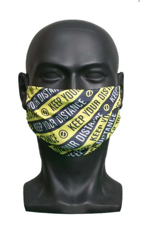 Keep Your Distance UK Made Facemask