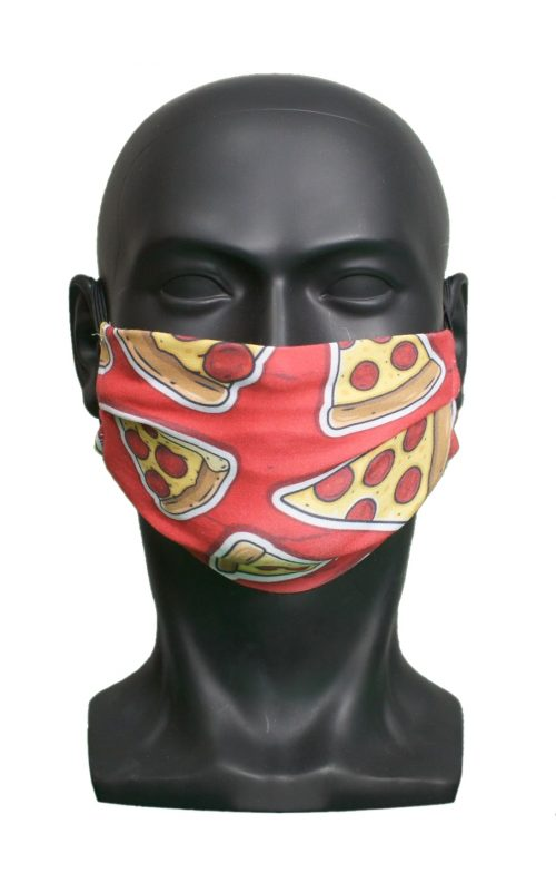 Pizza kids Childrens Face Mask Blank for Print on Demand