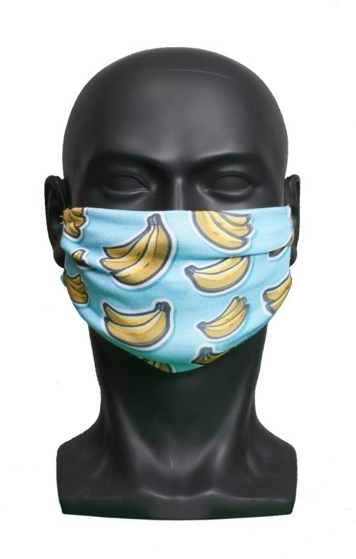Bananas kids Childrens Face Mask Blank for Print on Demand