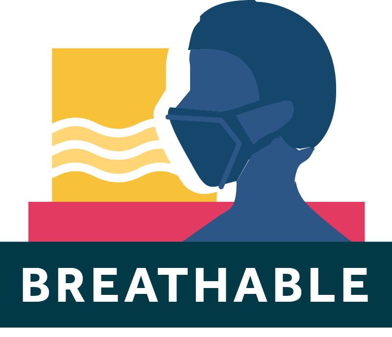 Breathable Face Masks Icon