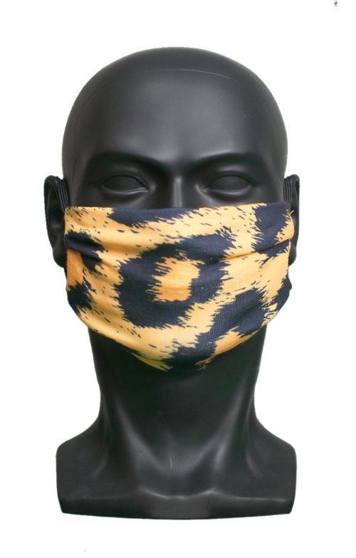 Cheetah Fur UK Made Facemask
