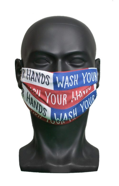 Wash Your Hands UK Made Facemask