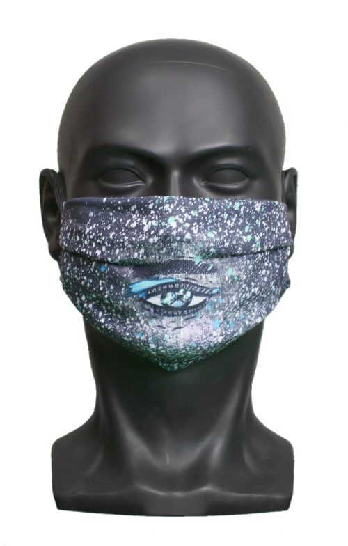 Space Eye kids Childrens Face Mask Blank for Print on Demand