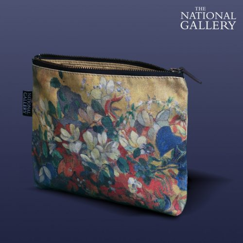 Paul Gauguin, A Vase of Flowers. National Gallery Cosmetic Bag