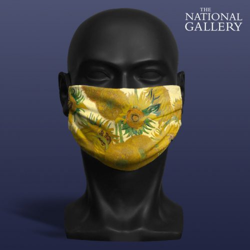 Vincent Van Gogh, Sunflowers. National Gallery ViralOff® Adult Face Mask. One Size, adjustable with ComfyClip accessory