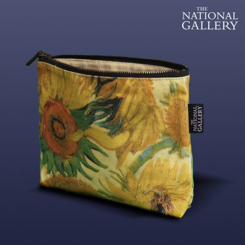 Vincent Van Gogh, Sunflowers. National Gallery Cosmetic Bag