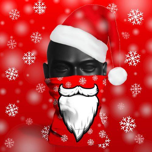 'Santa Beard Snowflake' ViralOff® Adult Festive Snood