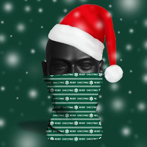 'Dark Green Wrapping Paper' ViralOff® Adult Festive Snood