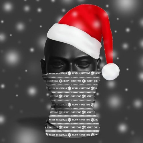 'Grey Wrapping Paper' ViralOff® Adult Festive Snood