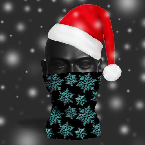 'Monochrome Snowflake' ViralOff® Adult Festive Snood