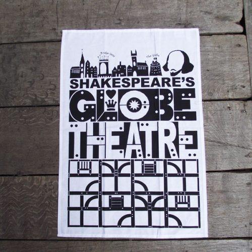Shakespeare's Globe – Globe Theatre Tea Towel