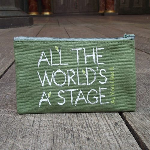Shakespeare's Globe – As You Like It 'All The World's a Stage' Purse