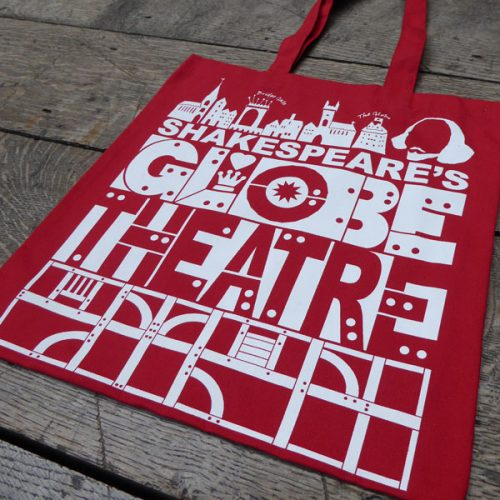 Shakespeare's Globe – Globe Theatre Bag Red