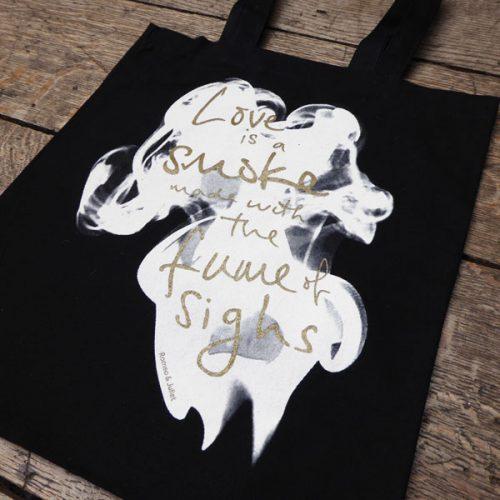 Shakespeare's Globe – Romeo & Juliet 'Love is a Smoke' Bag
