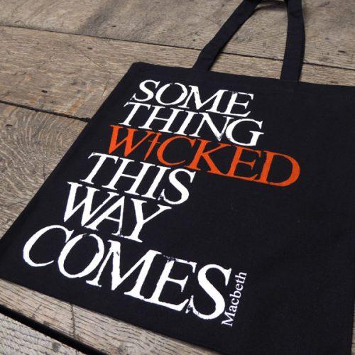 Shakespeare's Globe – Macbeth 'Something Wicked' Bag