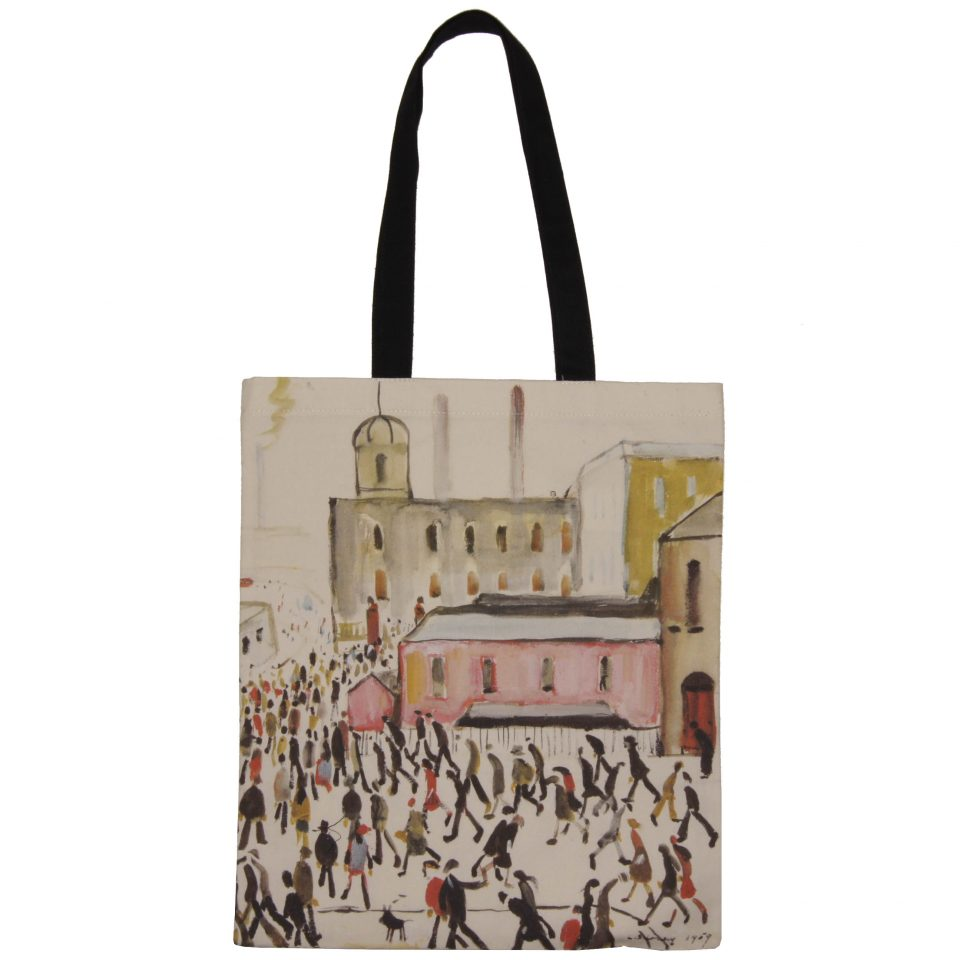'Going to Work' - LS Lowry Book Bag