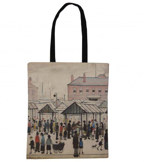 Market Scene by LS Lowry, 1939