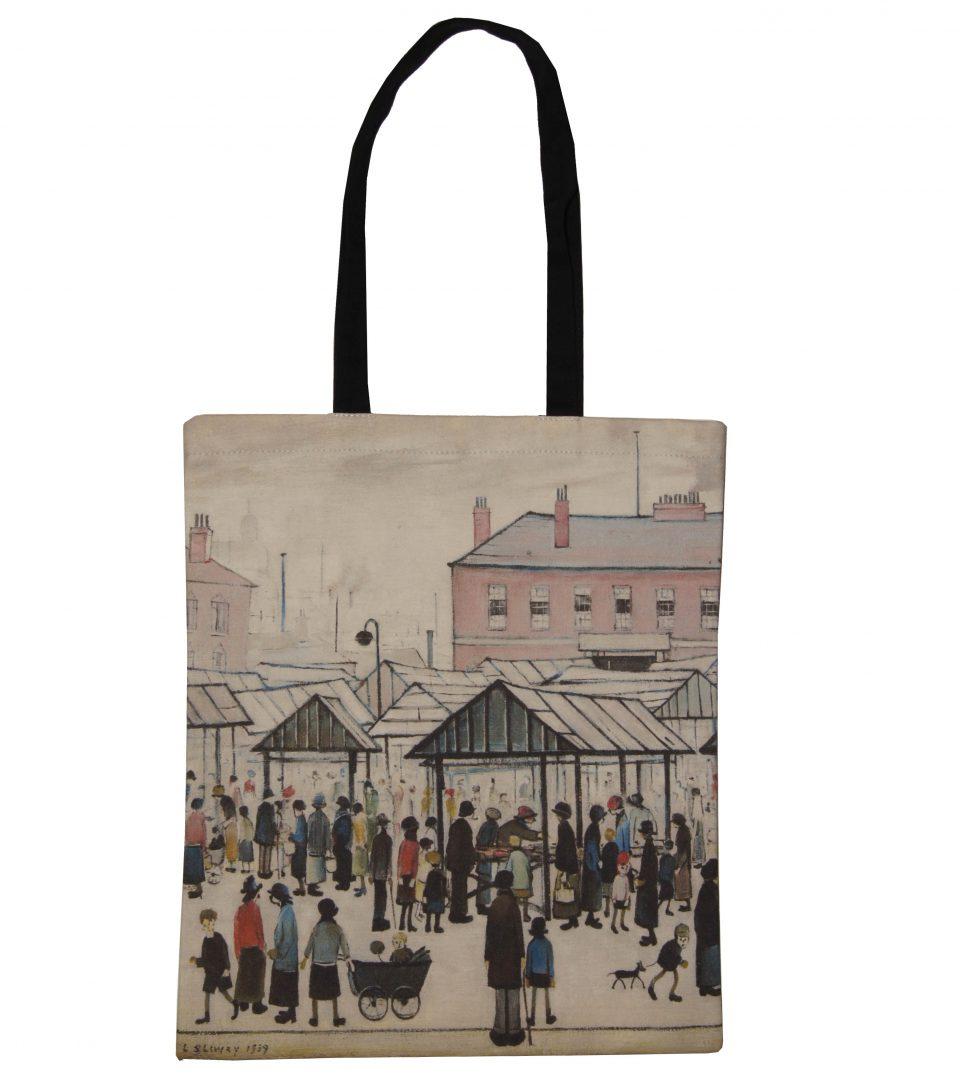 'Market Scene' - LS Lowry Book Bag
