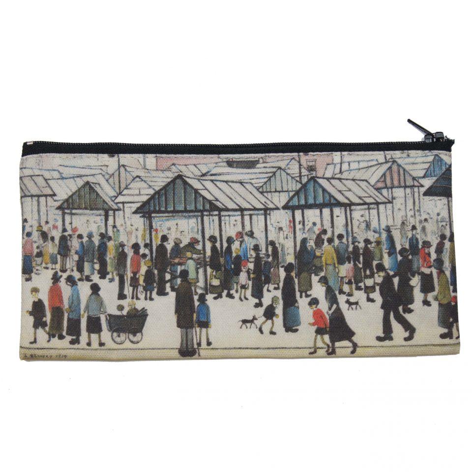 'Market Scene' - LS Lowry Pencil Case