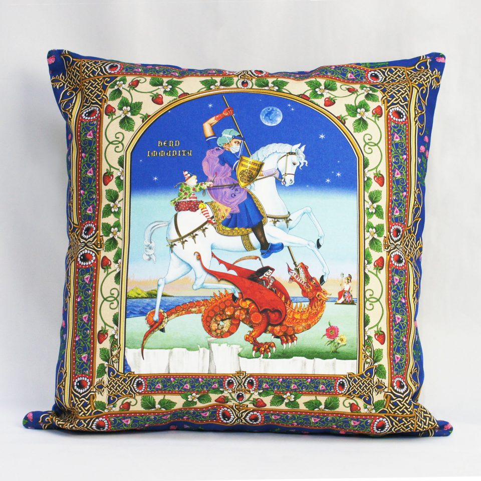 Singh Twins – Cushion Cover