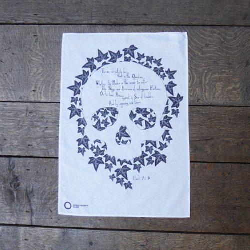 Shakespeare's Globe – Hamlet Tea Towel