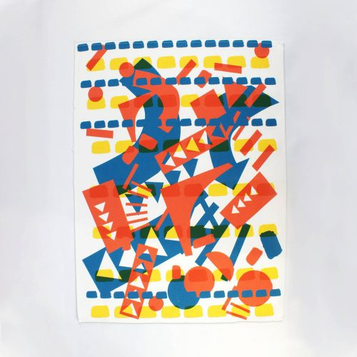 Collage – RUDE Organic Tea Towel