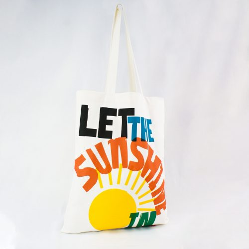 Let the Sunhine in – RUDE Organic Book Bag