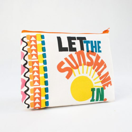 Let the Sunhine in – RUDE Organic Cosmetic Bag