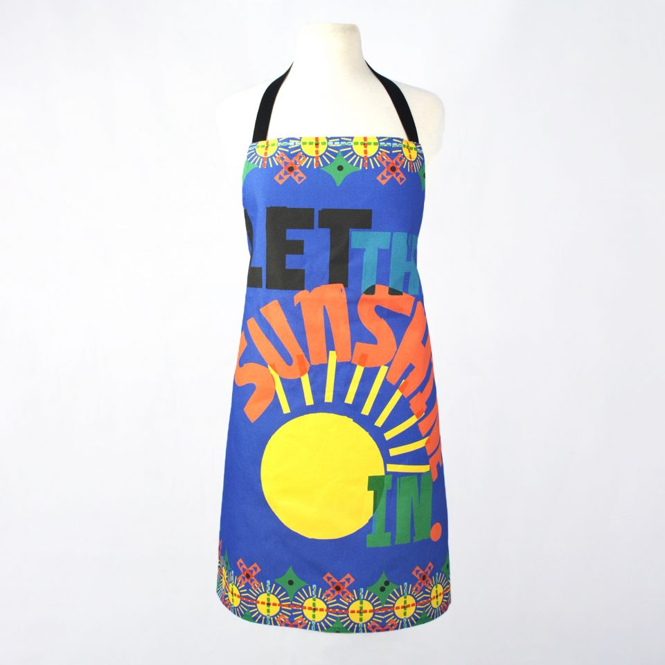 Let the Sunshine in - RUDE DESIGNS Organic Apron